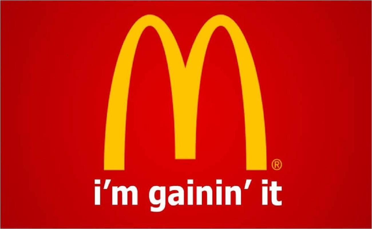 I'm gainin' it