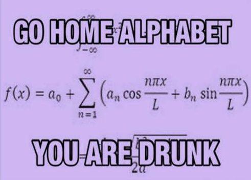 Go home alphabet