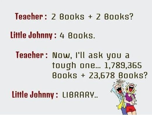 Teacher Little Johnny