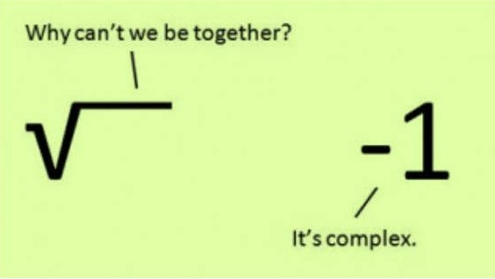It is Complex